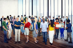 Group People Casual Community Diversity Talking Concept Royalty Free Stock Photos