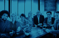 Group of People Cheerful Team Study Group Diversity Concept Royalty Free Stock Photo