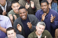 Group Of People Clapping Stock Images