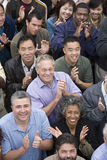 Group Of People Clapping Together Royalty Free Stock Photo