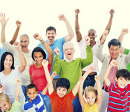 Group of People Community Celebration Happiness Concept Royalty Free Stock Photo