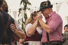 Group Of People Dancing Together royalty free stock photography