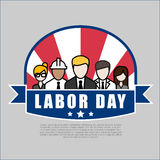 Group of People Different Occupation Set, International Labor Da Stock Image