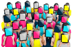 Group of People Digital Tablet Networking Technology Concept Stock Photo