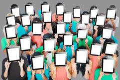 Group of People Digital Tablet Networking Technology Concept Royalty Free Stock Photography