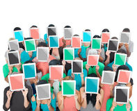 Group of People Digital Tablet Networking Technology Concept Stock Image
