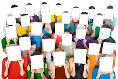 Group of People Digital Tablet Networking Technology Concept Royalty Free Stock Image