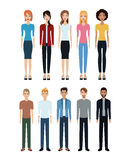 Group people diverse community social Stock Image
