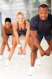 Group people fitness Royalty Free Stock Photos