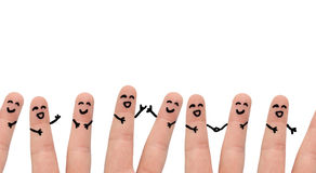 Group of people friends royalty free stock image