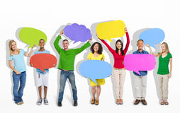 Group of People Giving Thoughts And Ideas Royalty Free Stock Photos