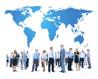 Group of People Global Business Communications Stock Photography