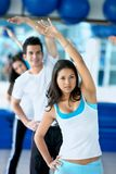 Group of people at the gym Royalty Free Stock Photography