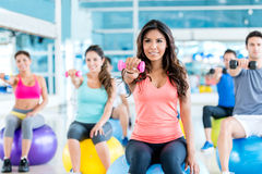 Group of people at the gym Stock Photography