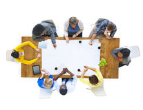 Group of People Having a Meeting Royalty Free Stock Photography
