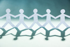 Group of people holding hands Stock Images