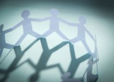 Group of people holding hands Stock Photography