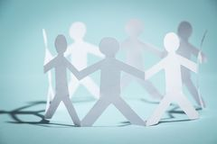 Group of people holding hands Royalty Free Stock Photo
