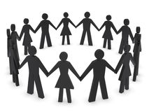 Group of people holding hands Royalty Free Stock Images
