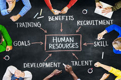 Group of People and Human Resources Concepts