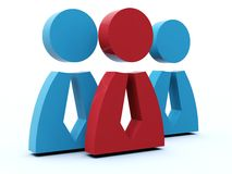 Group of people icon Royalty Free Stock Images