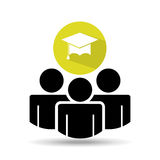 Group of people icon Royalty Free Stock Photography