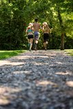 Group Of People Jogging Together Stock Photography