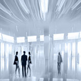 Group of people in the lobby business center Royalty Free Stock Photography