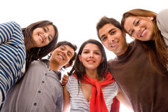 Group of people - low view Stock Image