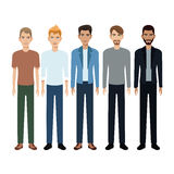 Group people man community Stock Photography
