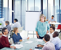 Group of People in a Meeting.  Royalty Free Stock Photography