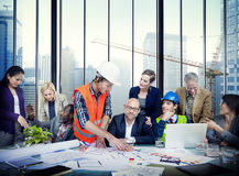 Group of People in a Meeting Stock Photos