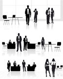 Group of people in office Royalty Free Stock Image