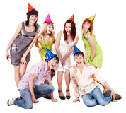 Group of people in party. Royalty Free Stock Photo