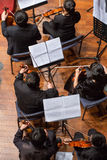 Group of people playing in a classical music concert, china Stock Photo