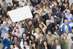 Group Of People In Rally Royalty Free Stock Photos
