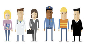 Group of people stock illustration