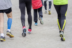 Group of people running Stock Images