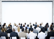Group of People in Seminar Stock Photography