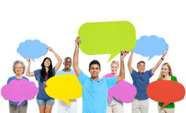 Group People Sharing Ideas Teamwork Concept Stock Photography