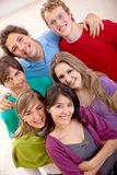 Group of people smiling Stock Photography