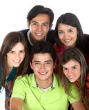 Group of people smiling Royalty Free Stock Photo