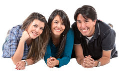 Group of people smiling Royalty Free Stock Photos