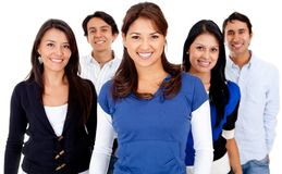 Group of people smiling Royalty Free Stock Photography