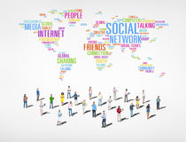 Group of People Social Networking Stock Photos
