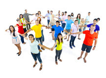 Group of People Standing Together Stock Images