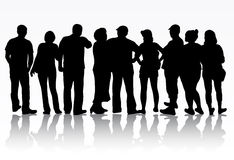 Group of people Stock Photography