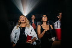 Group of people in theater Stock Photography