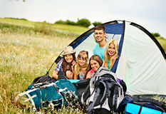 Group people on travel. royalty free stock photography