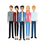 Group people unity team Royalty Free Stock Photo